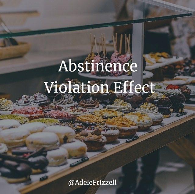 Abstinence Violation Effect